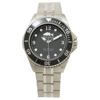 Benthic black dive watch