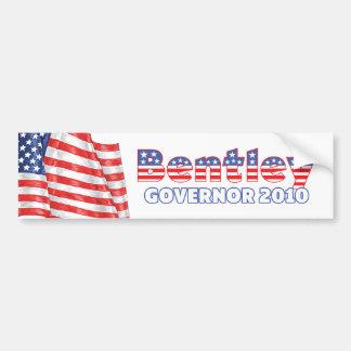 Bentley Patriotic American Flag 2010 Elections Car Bumper Sticker