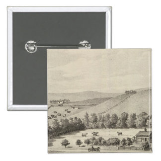 Benton Farm, near Onaga, Kansas 15 Cm Square Badge