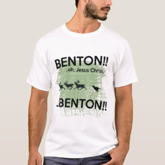 Benton Jesus Christ - internet dog T-Shirt