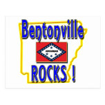 Bentonville Rocks ! (blue) Postcards