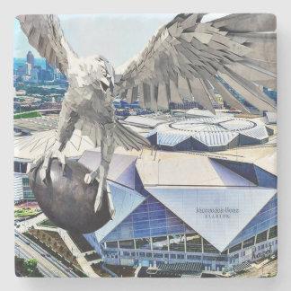 Benz Stadium, Atlanta, Georgia Marble Coasters