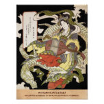 Benzaiten (Goddess of Beauty) Seated on a Dragon