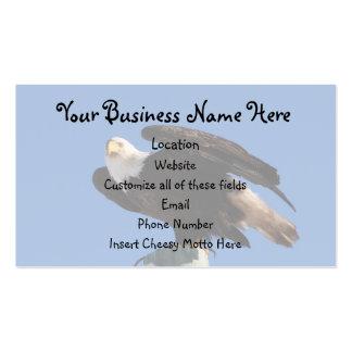 BEOUP Bald Eagle on Utility Pole Business Card
