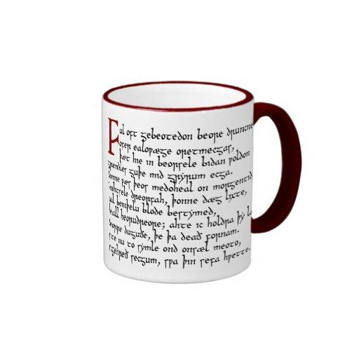Beowulf in the Meadhall Mug