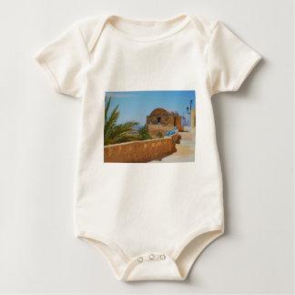 Berber village in Tunisia. Baby Bodysuit