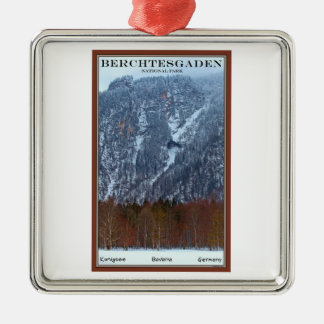 Berchtesgaden National Park - Winter Christmas Ornament
