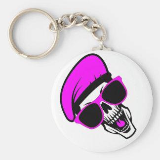 Beret Skull Key Ring