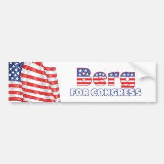 Berg for Congress Patriotic American Flag Bumper Sticker