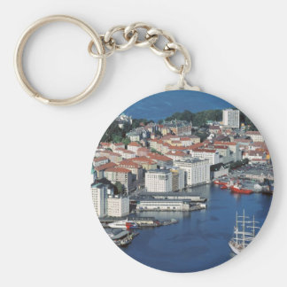 Bergen, Norway Key Ring