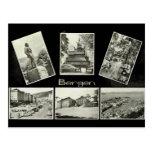 Bergen, Vintage multiview Post Card
