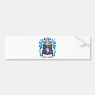 Berger Coat of Arms Bumper Stickers