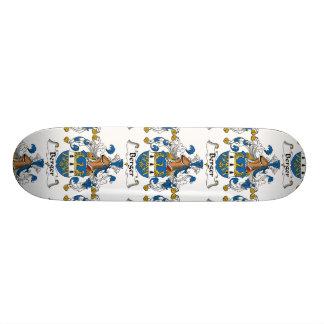 Berger Family Crest Skate Board