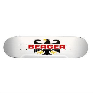 Berger Surname Skate Board Deck