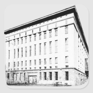 Berghain Square Sticker