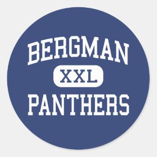 Bergman - Panthers - High - Bergman Arkansas Classic Round Sticker