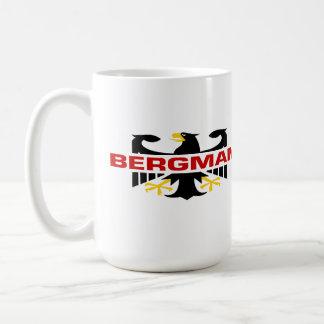 Bergman Surname Basic White Mug