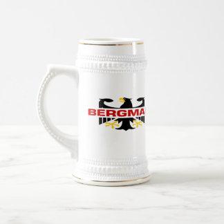 Bergman Surname Beer Stein
