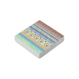 Berimbau Tribal Design Marble Magnet Stone Magnet