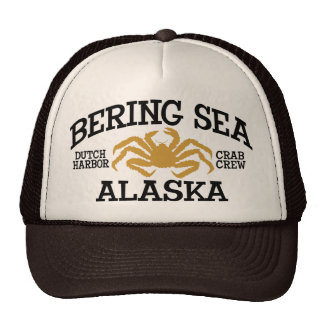 BERING SEA ALASKA Hat