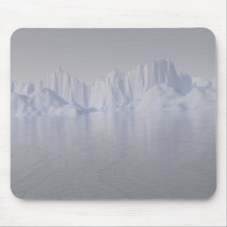 bering strait the ice barrier mouse pads