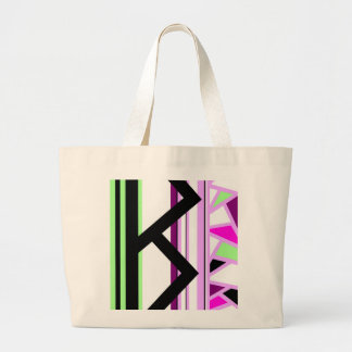Berkana Contemporary Futhark Abstract Norse Rune Bag