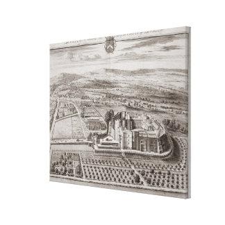 Berkeley Castle, Seat of the Earl of Berkeley (eng Canvas Print