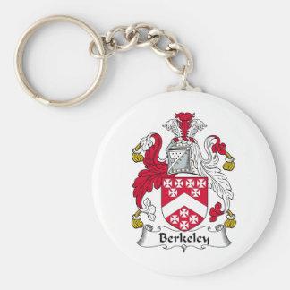 Berkeley Family Crest Key Ring