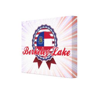 Berkeley Lake, GA Stretched Canvas Print