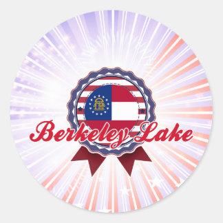 Berkeley Lake, GA Round Sticker
