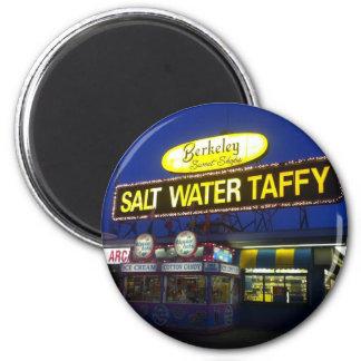 Berkeley Salt Water Taffy at sundown 6 Cm Round Magnet