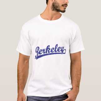 Berkeley script logo in blue T-Shirt