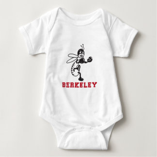 Berkley High School Old Logo Baby Bodysuit