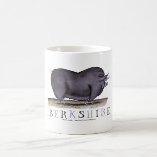 berkshire pig, tony fernandes coffee mug