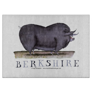 berkshire pig, tony fernandes cutting board