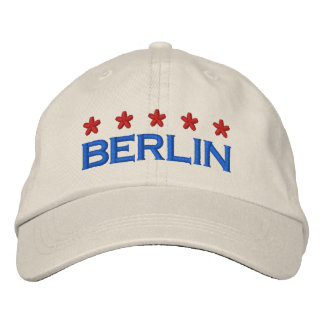 BERLIN - 001 EMBROIDERED HAT