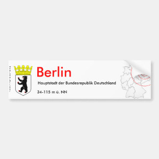 Berlin 1 bumper sticker