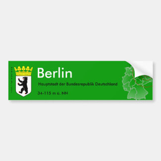 Berlin 4 bumper sticker