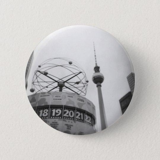 berlin 6 cm round badge