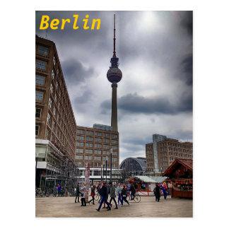 Berlin Alexanderplatz Fernsehturm Postcard