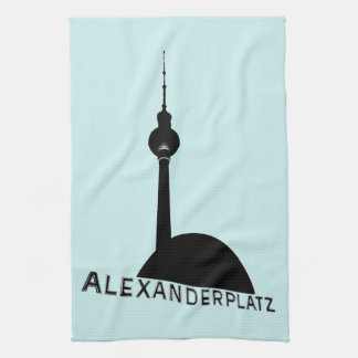 Berlin Alexanderplatz Tea Towels