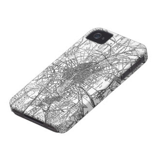 Berlin and Surrounding Areas Map(1911) iPhone 4 Cases
