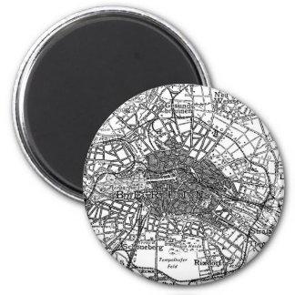 Berlin and Surrounding Areas Map(1911) Fridge Magnet