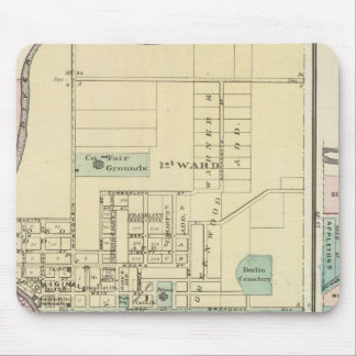Berlin and Village of Plymouth Mouse Pad