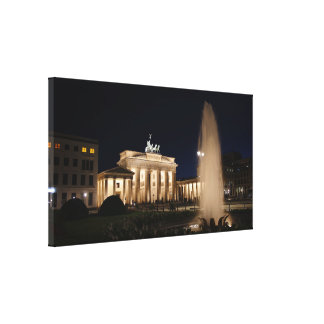 Berlin as canvas picture