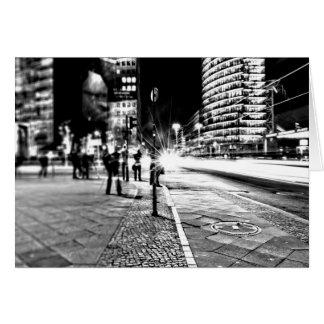 Berlin at Night Card