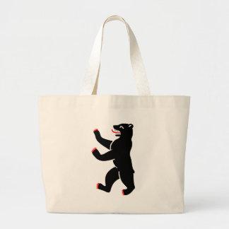 Berlin Bear Large Tote Bag