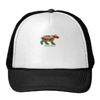 Berlin Bear - Tulips Trucker Hats