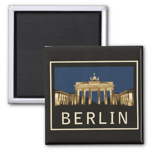 Berlin Brandenburg Gate Magnet