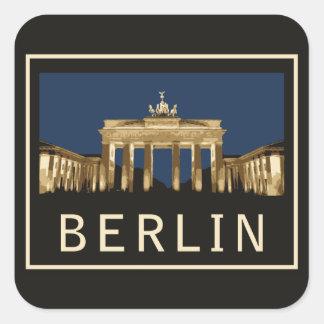Berlin Brandenburg Gate Stickers